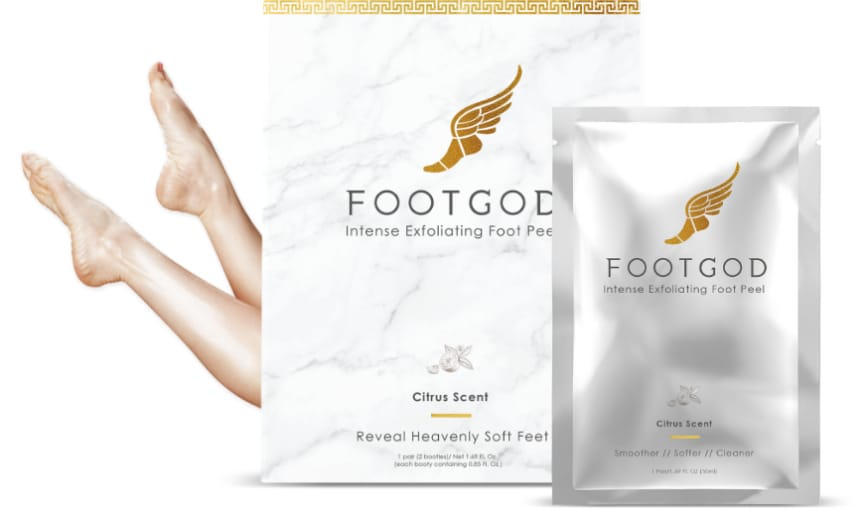 FootGod foot peel sock product
